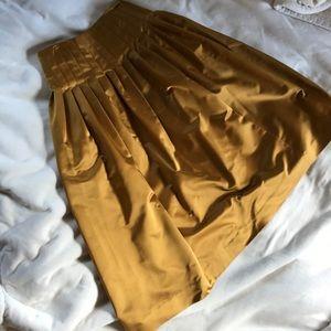 J. Crew Satin Party Skirt